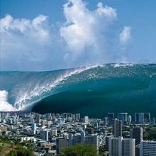 Цунами - большая волна
