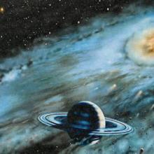 А где-то в космосе...