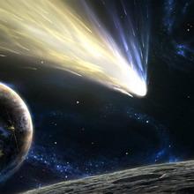 Комета в упряжке