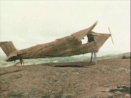 Самолет из соломы