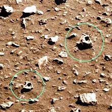 По Марсу разбросаны чьи-то головы