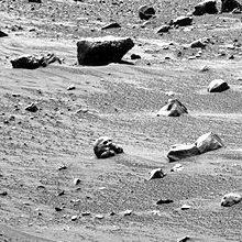 На Марсе череп гуманоида?