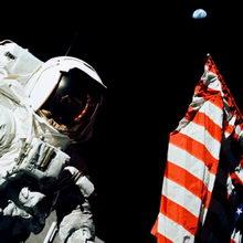 Люди были на Луне не первыми