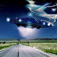 UFO Транспорт для ангелов и демонов