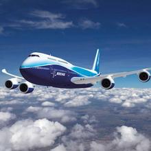 Боинг-747 над о. Сахалин
